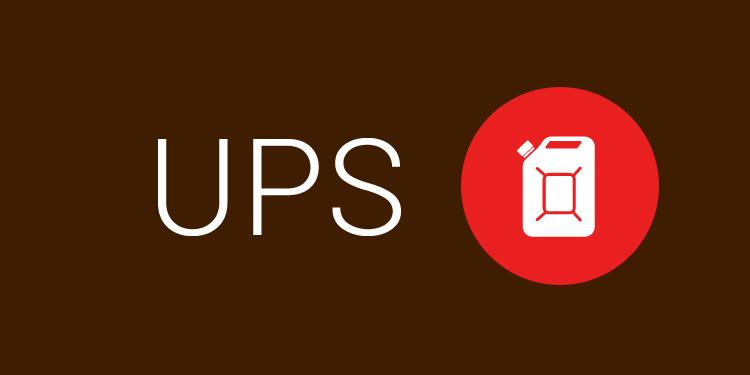 Dopłata paliwowa UPS