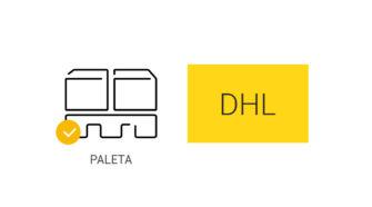 Paleta DHL