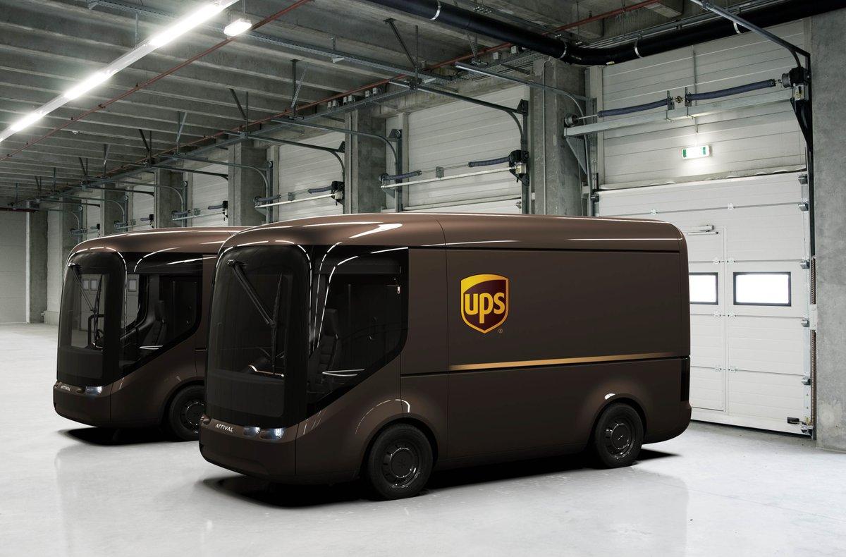 Elektryczne ciężarówki UPS