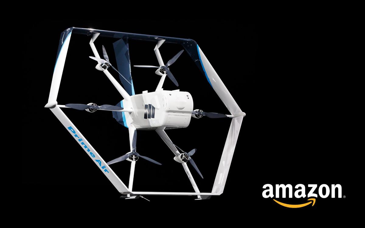 Dostawa paczki dronem