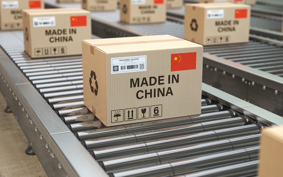 Przesyłki z Chin