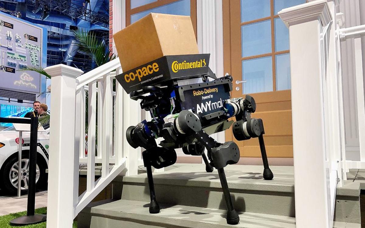 Robot kurier - fot. anybotics.com