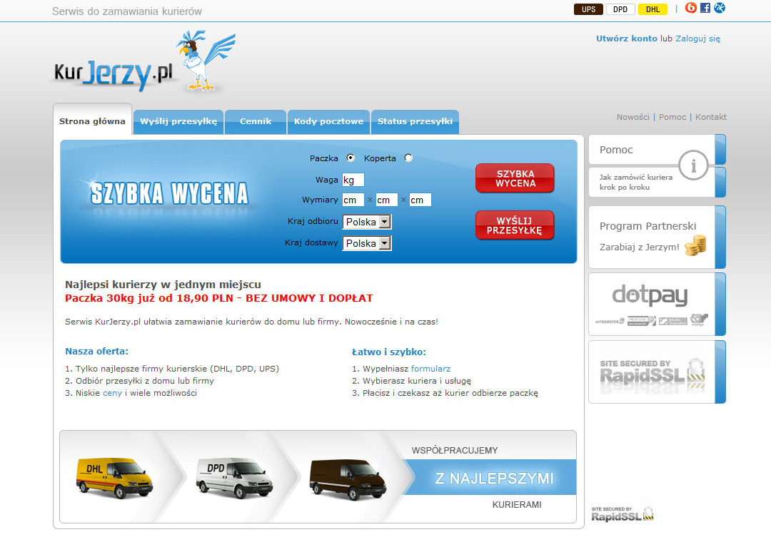 KurJerzy.pl w roku 2010
